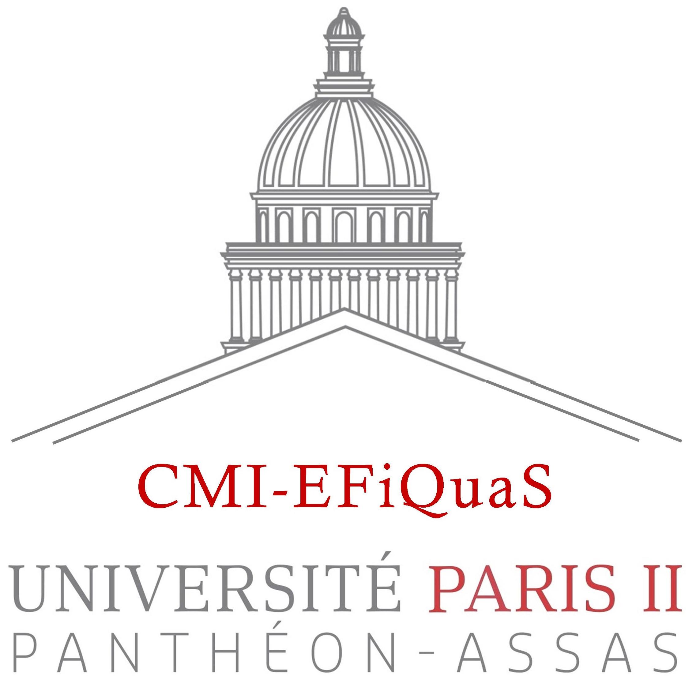 CURSUS MASTER EN INGÉNIERIE ÉCONOMIE, FINANCE QUANTITATIVE ET STATISTIQUE (CMI-EFIQUAS)